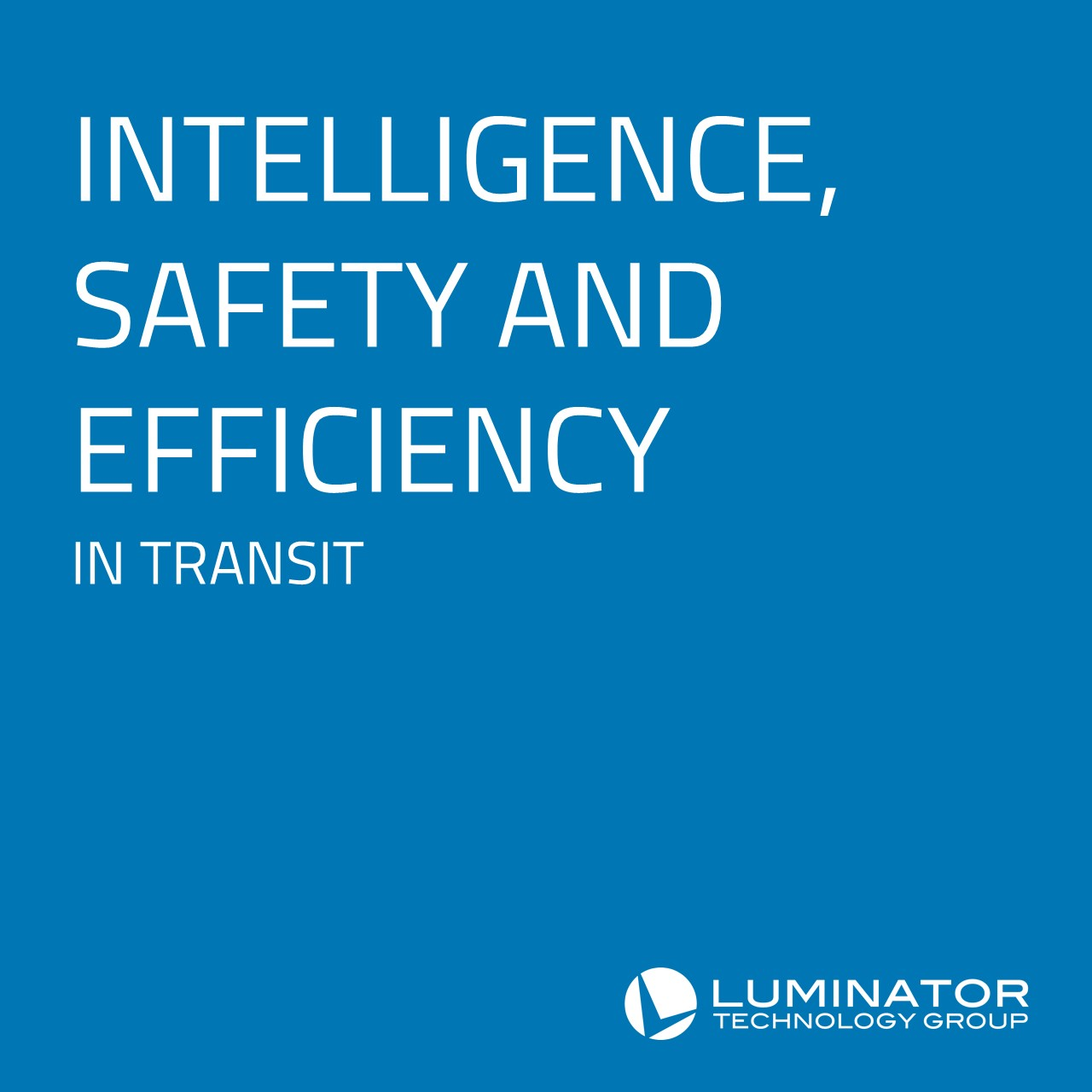 Luminator Technology Group to Speak at APTAtech Transportation Technology Conference on Infotainment and Machine Learning