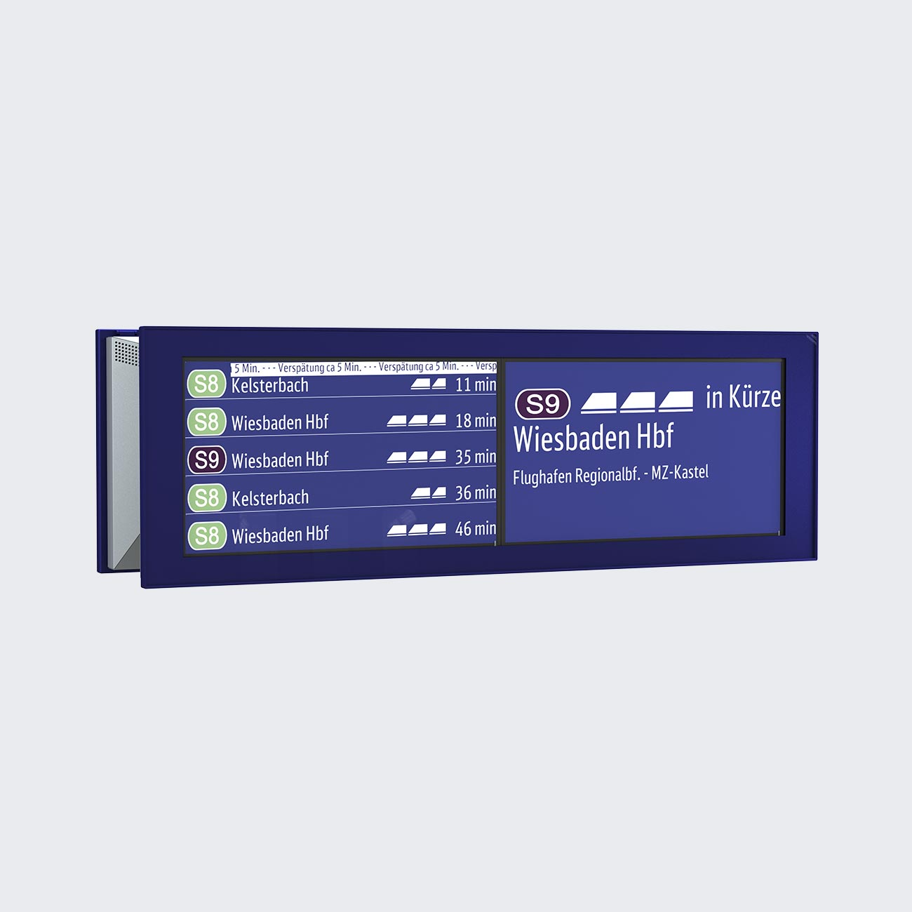 ZIM Information Monitor, 2x43'', TFT, Double-Sided